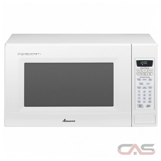 Countertop Microwave Reviews Canada : Amana AMC2206BAW 2.0 cu. ft., 1,100 watt Countertop Microwave Oven ...