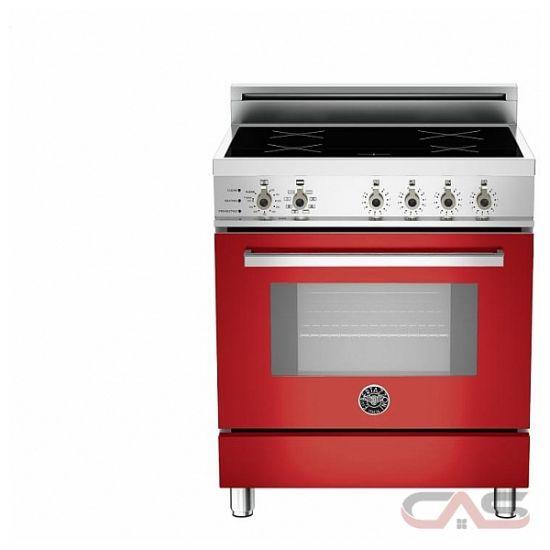 Bertazzoni pro304insro range electric range 30 inch self clean convection 4 burners - Inch electric range reviews ...