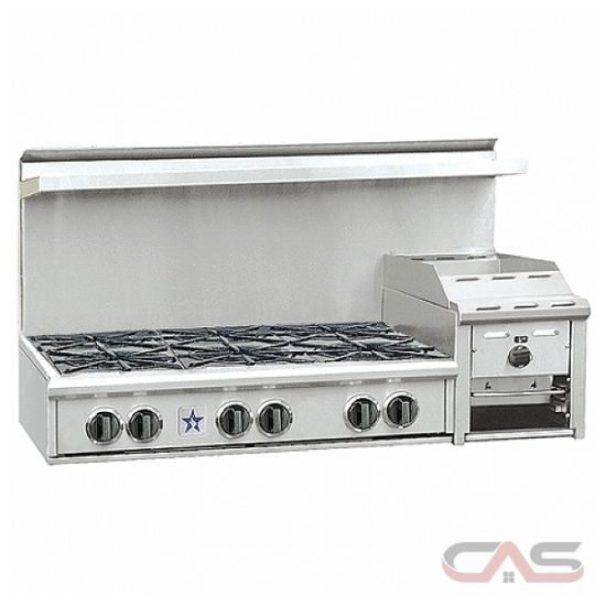 blue star rgtnb486ghcv1 rangetop gas cooktop 48 inch 6 burners