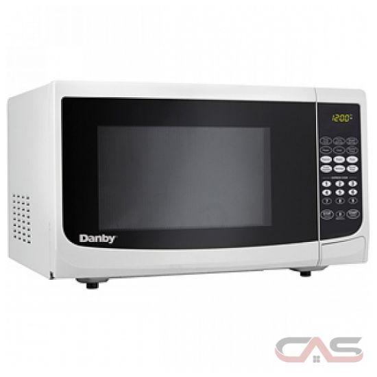 Countertop Microwave Reviews Canada : Danby DMW099WDB Countertop Microwave Oven 0.90 cu. ft., 900 watts of ...