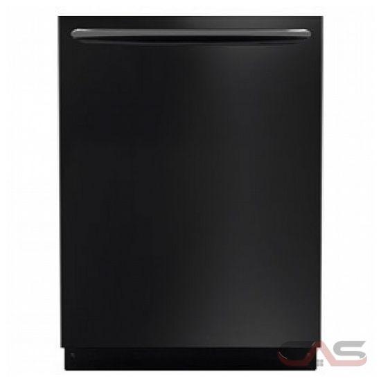 frigidaire gallery fgid2474qb lave vaisselle 24 largeur ext rieure 7 cycles de lavage 2. Black Bedroom Furniture Sets. Home Design Ideas