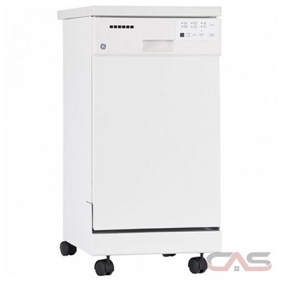 Gsc1800vww ge dishwasher canada best price reviews and - Portable dishwasher stainless steel exterior ...