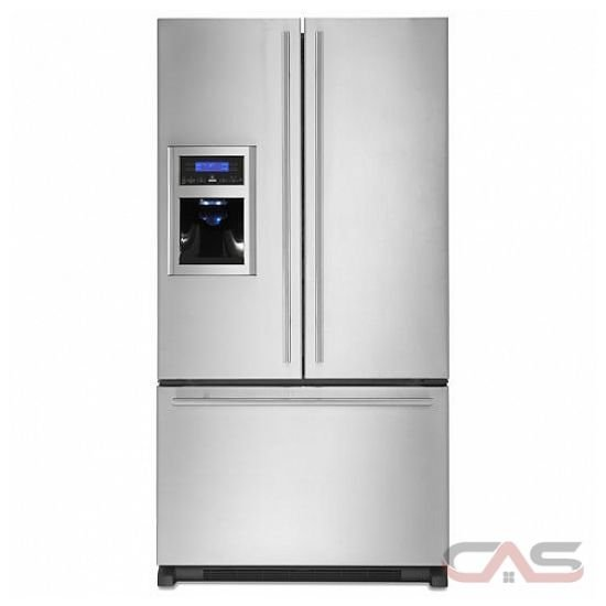 Jenn-Air JFI2589AES French Door Refrigerator QuadSensor Electronic Climate Control, LCD Display ...