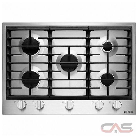 Kitchen Set Top View: JGC1530BS Jenn-Air Cooktop Canada