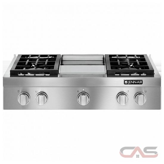 Jgcp536wp Jenn Air Pro Style Cooktop Canada Best Price