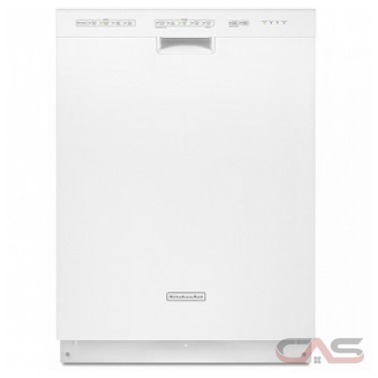 Kitchenaid Whisper Quiet Dishwasher: KUDE20IXWH KitchenAid Dishwasher Canada