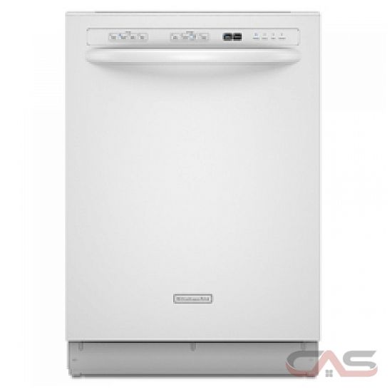 Kitchenaid Whisper Quiet Dishwasher: KitchenAid KUDK03CTWH Dishwasher Canada