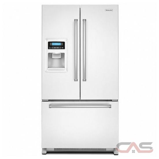 Kitchenaid 30 19 7 Cu Ft French Door Refrigerator With: KRFC400EWH KitchenAid Refrigerator Canada