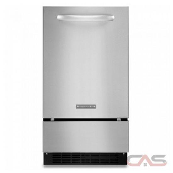 Kitchen Ice Maker ~ Kitchenaid kuic pnts refrigerator canada best price
