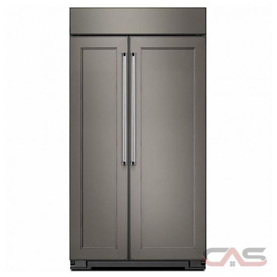kitchenaid kbsn602epa side by side refrigerator 42 width