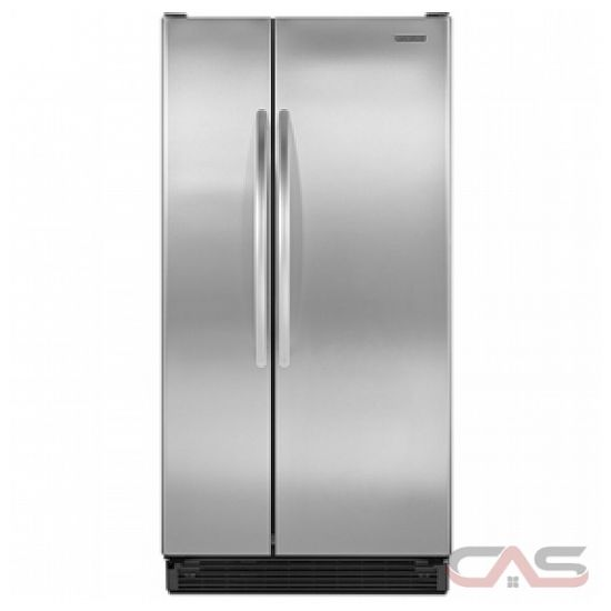kitchen aid ksrs22mwms side by side refrigerator 33in 21