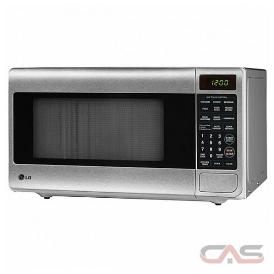 LG LMS1170SS Countertop Microwave, 20 1/16 in, 1.1 cu.ft, with Auto ...