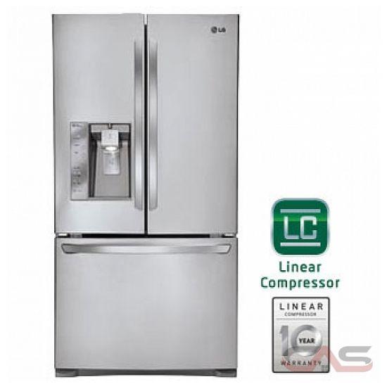Lfxc24726s Lg Refrigerator Canada Best Price Reviews