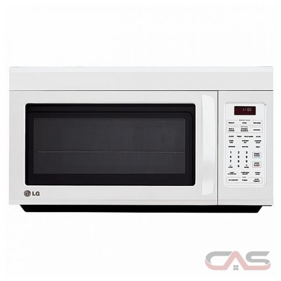 Whirlpool Over Stove Microwave LG LMV1813SW Over the Range Microwave, 30 in, 1.8 cu. ft ...