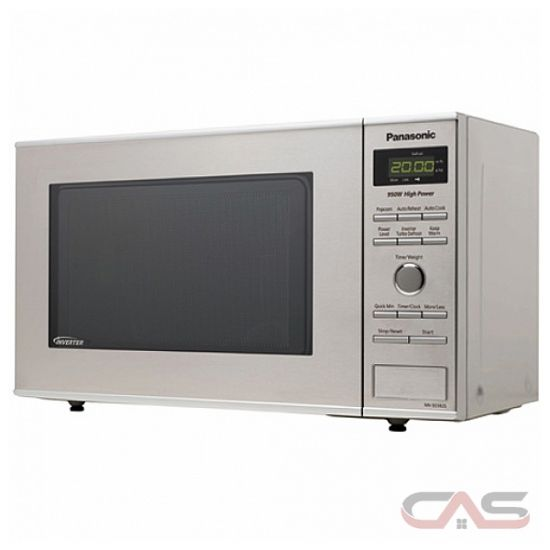 Panasonic NNSD382S Countertop Microwave, 19 1/5