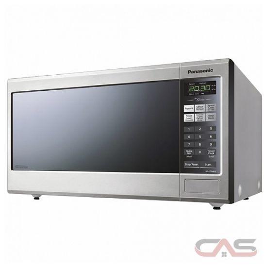 Panasonic NNST681S Countertop Microwave, 20 7/10