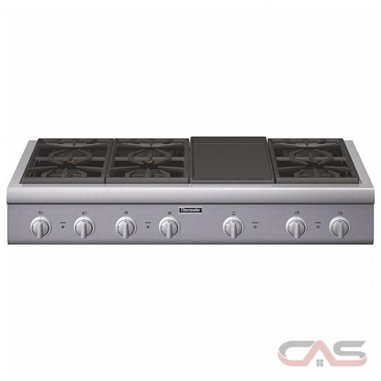 thermador professional series pcg486gd rangetop gas cooktop 48 inch