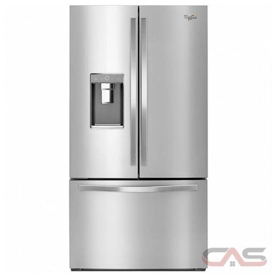 Whirlpool Wrf992fifm French Door Refrigerator 36 Quot Width