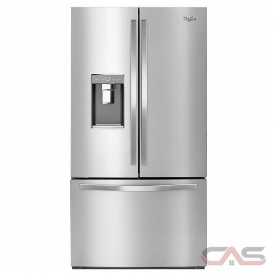 "Whirlpool WRF995FIFZ French Door Refrigerator, 36"" Width ..."