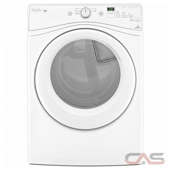 Whirlpool Apartment Size Washer And Dryer: Whirlpool YWED72HEDW Dryer Canada