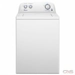 "Amana NTW4519JW Top Load Washer, 27"" Width, 4.3 cu. ft. Capacity, 14 Wash Cycles, 5 Temperature Settings, Water Heater, 770 RPM Washer Spin Speed, White colour"