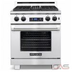 American Range ARR304DFLP 4 Sealed Gas Burners, Electric Oven Range