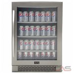 AVG VPB50SS Under Counter Refrigeration, 24 Width, Free Standing, Stainless Steel colour