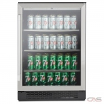 AVG ABC160S Beverage Center, 24 Width, Free Standing & Built In, Stainless Steel colour