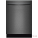 Bosch 800 Series SHXM78W54N Built-In Undercounter Dishwasher, 24 Exterior Width, 6/5 Wash Cycles, Stainless Steel (Interior), 3 Loading Racks, Fully Integrated, 13 Capacity (Place Settings), 42 Decibel Level, Black Stainless Steel colour