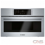 Bosch 800 Series HMC80152UC Speed Oven, 1.6 Capacity, 30 Exterior Width, Convection, 1000 Watts, Stainless Steel Interior, Stainless Steel colour