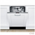 Bosch Benchmark Series SHV88PZ53N Built-In Undercounter Dishwasher, 24 Exterior Width, 6 Wash Cycles, Stainless Steel (Interior), 3 Loading Racks, Fully Integrated, 16 Capacity (Place Settings), 40 dB Decibel Level, Stainless Steel colour