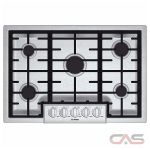 Bosch Benchmark Series NGMP055UC Cooktop, Gas Cooktop, 30 inch, 5 Burners