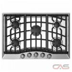 Brigade CRVGC3305BSS Cooktop, Gas Cooktop, 30 inch, 5 Burners, Stainless Steel colour