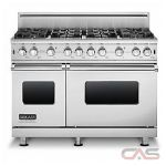 Brigade CVGCC5488BSS Range, Gas Range, 48 inch, Convection, 8 Burners, Sealed Burners (Gas), 6.1 cubic ft, Free Standing, Stainless Steel colour