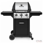 Broil King Monarch 834257, 51.8 Width, Natural Gas, 3 Burners, 520 Cooking Area, 30000 Burner Output