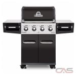 Broil King Regal 956217, 56.3 Width, Natural Gas, 4 Burners, 695 Cooking Area, 50000 Burner Output