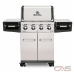 Broil King Regal 956314, 56.3 Width, Liquid Propane, 4 Burners, 69 Cooking Area, 50000 Burner Output, Stainless Steel colour