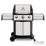 Broil King 987814, 56.5 Width, Liquid Propane, 3 Burners, 725 Cooking Area, 44000 Burner Output, Stainless Steel colour