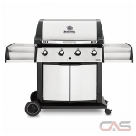 Broil King 988814, 65 Width, Liquid Propane, 4 Burners, 1000 Cooking Area, 50000 Burner Output, Stainless Steel colour