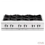 Capital CGRT362G2 Rangetop, Gas Cooktop, 36 inch, 4 Burners, 25K BTU, Stainless Steel colour
