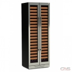Cavavin M209SSGBFFBTTV1 Wine Cooler, 30 Width, Free Standing & Built In, 209 Wine Bottle Capacity, Stainless Steel colour