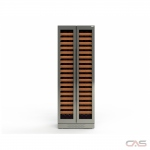 "Cavavin M209SSGBFFBTTV1 Wine Cooler, 30"" Width, 209 Wine Bottle Capacity, Stainless Steel colour"