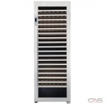 Cavavin V-265WSZ Wine Cooler, 30 Width, Free Standing, 265 Wine Bottle Capacity, Stainless Steel colour