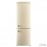 Chambers CRBR2412-CR Bottom Mount Refrigerator, 24 Width, Energy Efficient, 11.7 Capacity, LED Lighting