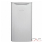 Danby DAR033A6WDB Compact Refrigerator, 17 17/25 Width, Free Standing, Energy Efficient, White colour All Refrigerator