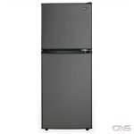 "Danby DCR047A1BBSL Compact Refrigerator, 19"" Width, ENERGY STAR Certified, Black Stainless Steel colour"