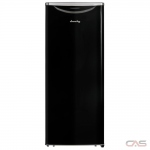 "Danby DAR110A2MDB Compact Refrigerator, 23 4/5"" Width, ENERGY STAR Certified, Midnight Black colour Apartment Size Refrigerator"