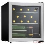 "Danby DWC172BLPDB Wine Cooler, 17 11/16"" Width, 17 Wine Bottle Capacity, Stainless Steel colour"