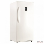 Danby DUF140E1WDD Upright Freezer, 28 Width, 14 Capacity, Frost Free, Interior Light (Freezer), White colour