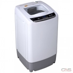 "Danby DWM030WDB-6 Portable Washer, 17 3/4"" Width, 0.9 cu. ft. Capacity, 5 Wash Cycles, White colour"